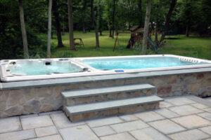 foto swimspa outdoor