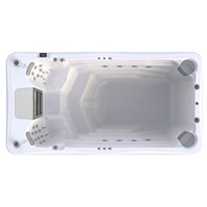 Плавательный спа бассейн джакузи с устройством противотока wellis Danube swimspa w flow 300