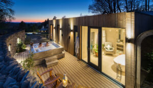 foto outdoor spa cube