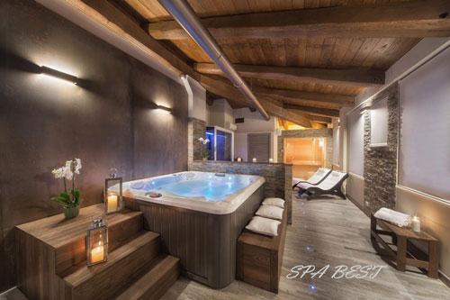 фото гидромассажный спа бассейн