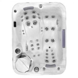 Гидромассажный спа бассейн джакузи встраиваемый с крышкой Wellis Explorer