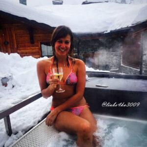 фото спа бассейн зимний