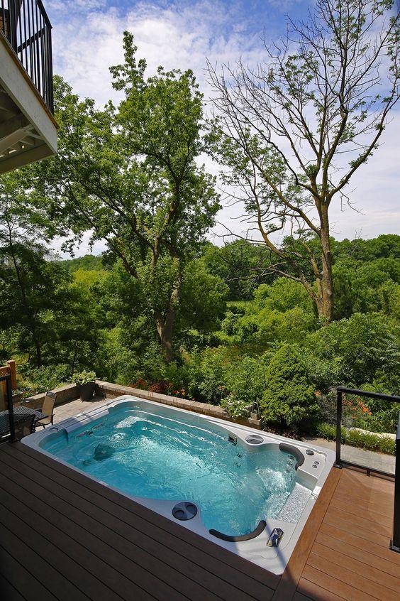 фото плавательный спа бассейн