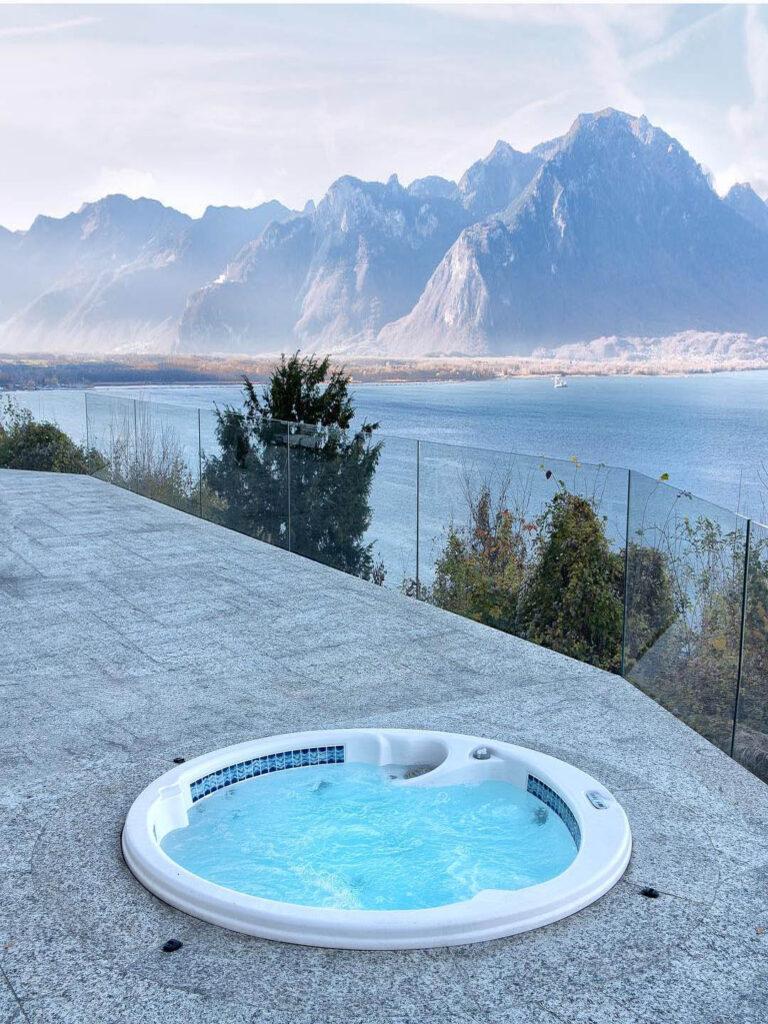 Спа бассейн для зимы в Норвегии