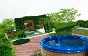 фото павильон бассейн джакузи