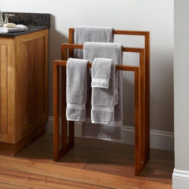 фото вешалка для полотенец
