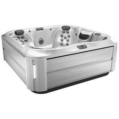 Спа бассейн Jacuzzi J-375 Silver Pearl Brushed Grey