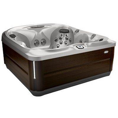 Спа бассейн Jacuzzi J-485 Silver Pearl Modern Hardwood