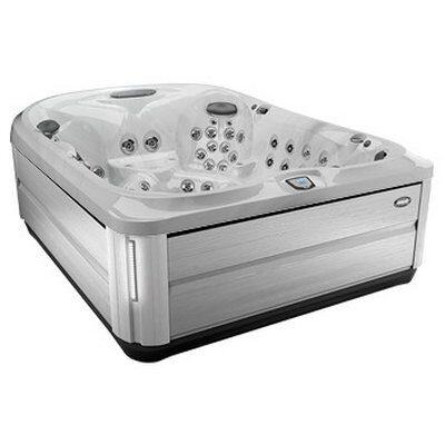 Спа бассейн Jacuzzi J-495 Platinum Brushed Grey