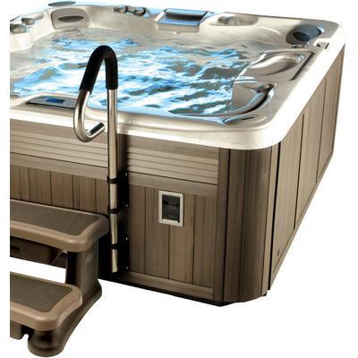 Поручень для джакузи с креплением на обшивку бассейна Safe-T-Rail хром