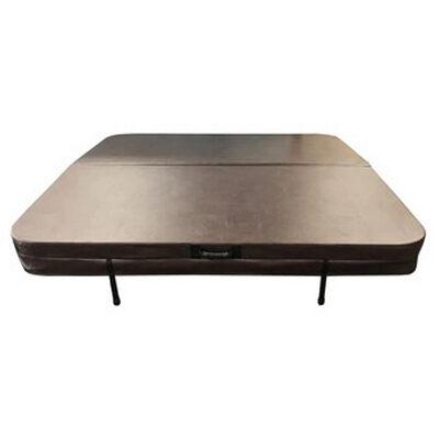 Прямоугольная термокрышка для встроенного спа бассейна